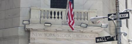 New York Stock Exchange on Wall Street © Alexander Khaelss-Khaelssberg