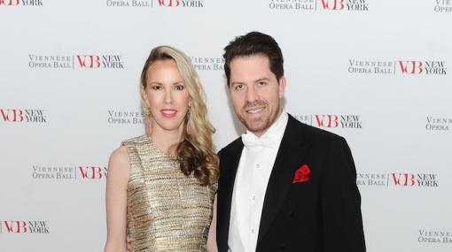 Silvia Frieser und Daniel Serafin beim Viennese Opera Ball in New York City © Viennese Opera Ball