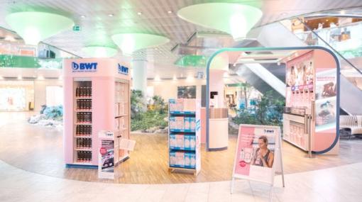 Mobiler Konzept-Store: Der neue BWT Cube of Competence bringt das ...