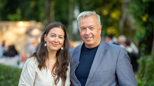 Julia und Herbert Lippert beim Musikfestival Steyr © Peter Christian Mayr